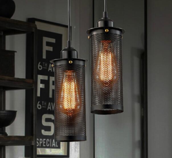 Free Shipping Kitchen Bar Pendant Light Dining Room 3: Free Shipping Vintage Edison Indurstial Black Iron Pendant