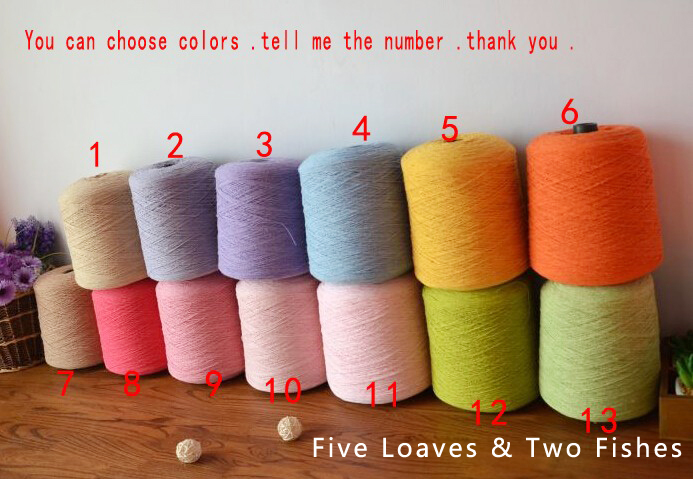 1PCS / 100G Hand Crochet Thread Sewing Thread Cotton Line DIY Line Tablecloth Line Diameter 0.075CM More Colors