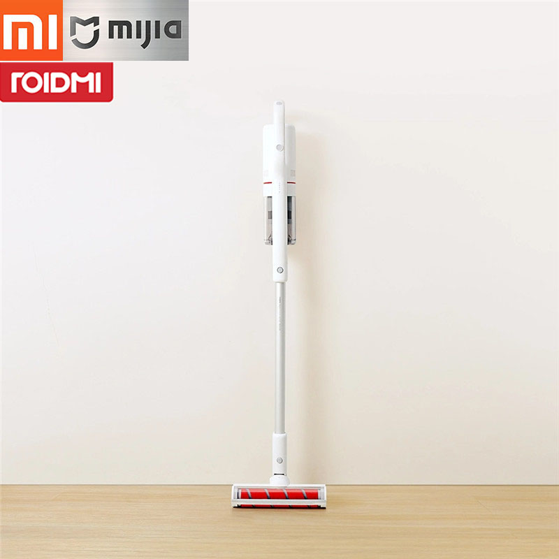 Original Xiaomi Mijia Roidmi Cordless Vacuum Cleaner F8 With Wifi APP Remote Control With LED Night Light For Mi Home Smart Kit цена 2017