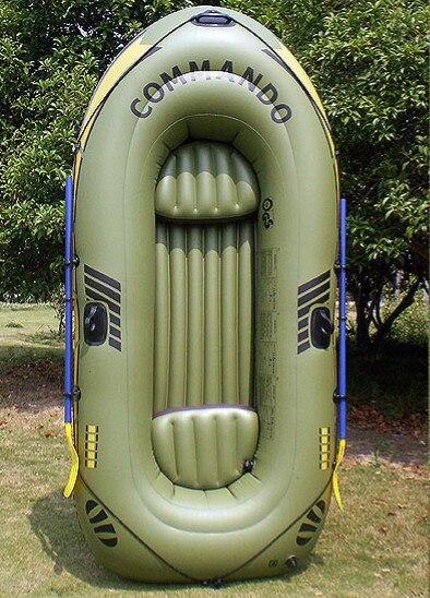 3 personnes gonflable bateau de pêche En Plein Air bateau Dérive bateau kayak Gonflable piscine float 0.45mm PVC Épaissie ski nautique bateau