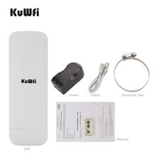 3Km Draadloze Cpe Router 300Mbps Wireless Outdoor Ap Router Wifi Repeater Wifi Extender Access Point Ap Bridge Client router(China)