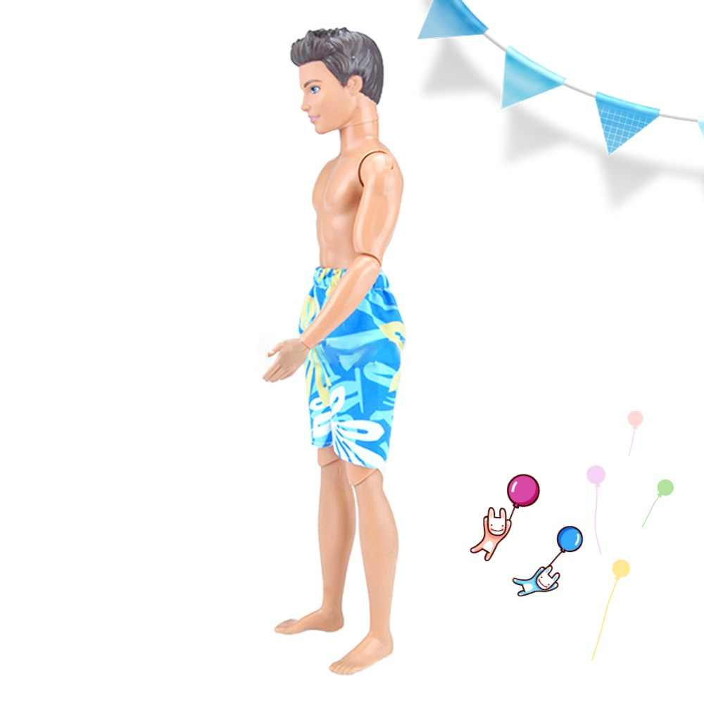 LeadingStar Beach เสื้อผ้าตุ๊กตาสไตล์กางเกงขาสั้นกางเกงขาสั้นฤดูร้อนพิมพ์กางเกงขาสั้นชายหาดสำหรับ Boyfriend Ken Doll