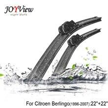 U-hook Size:22″+22″ Fit For Citroen Berlingo (1996-2007) High Quality Windscreen Wipers Limpiaparabrisas Wiper blade