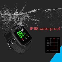 SN12 Смарт-часы монитор сердечного ритма IP68 Водонепроницаемый браслет для плавания Bluetooth Спорт часы для Для мужчин Для женщин Smartwatch