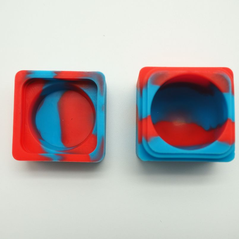 silicone small square container (12)