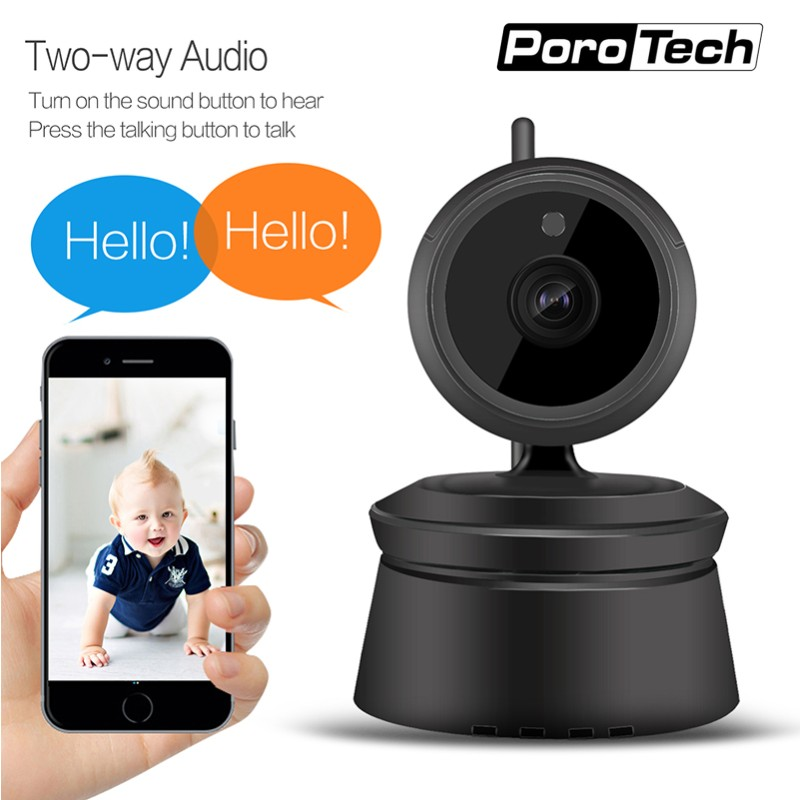 2018 newest 1080p hd wifi camera p2p network ip camera home security surveillance video ir night. Black Bedroom Furniture Sets. Home Design Ideas