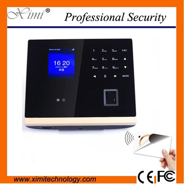 8000 photo record 500 face user 1000 fingerprint capacity tcp/ip standaolone time clock mi-fare card biometric access control