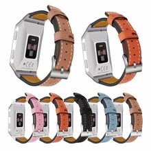 Fitbit Ionic Leather Bands Genuine Replacement Straps for Fitbit Ionic