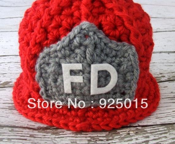 High end Custom Newborn Baby Handmade Crochet Cute Fireman ...