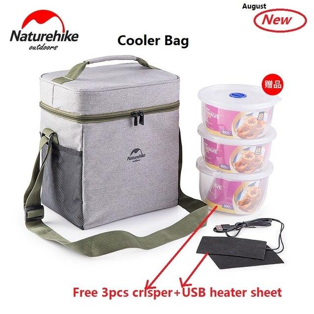 Sac De Pique-nique En Plein Air Sac Isotherme Panier Pique-nique Refroidisseur Sac Pliable Portable,B