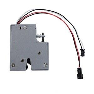 Image 2 - 3.3 V 5 V hoặc 12VDC Điện Mini Bolt Khóa Tủ Tủ Nhỏ Khóa/Đế Cửa (5 chiếc/gói)