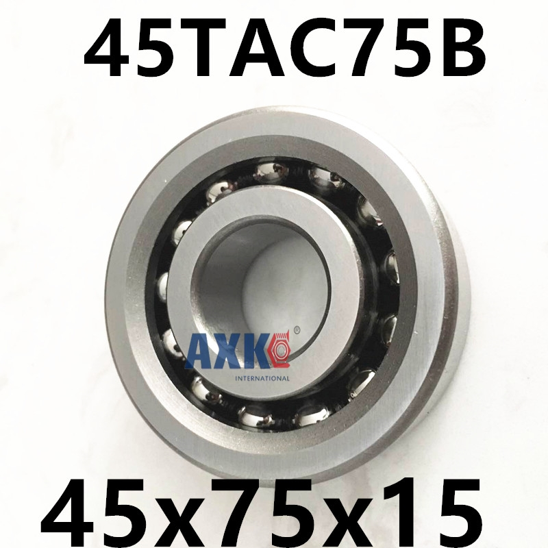 2018  Rushed Thrust Bearing 1pcs 45tac75b 45 Tac 75b Suc10pn7b 45x75x15 Axk High Speed Load Capacity Ball Screw Support Bearings2018  Rushed Thrust Bearing 1pcs 45tac75b 45 Tac 75b Suc10pn7b 45x75x15 Axk High Speed Load Capacity Ball Screw Support Bearings