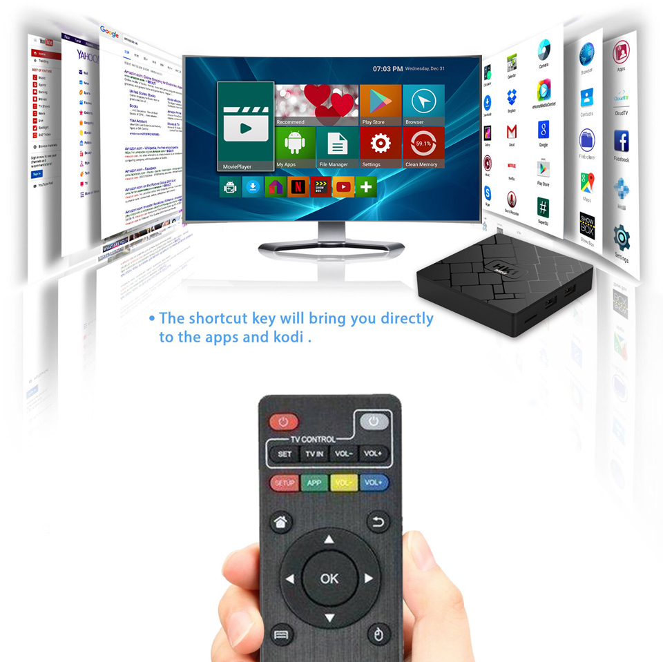 France IPTV 1 Year HK1 Mini Android 8.1 Box RK3229 2+16G IP TV 4K H.265 Decoder Arabic French QHDTV 1 Year Subscription Box  (11)