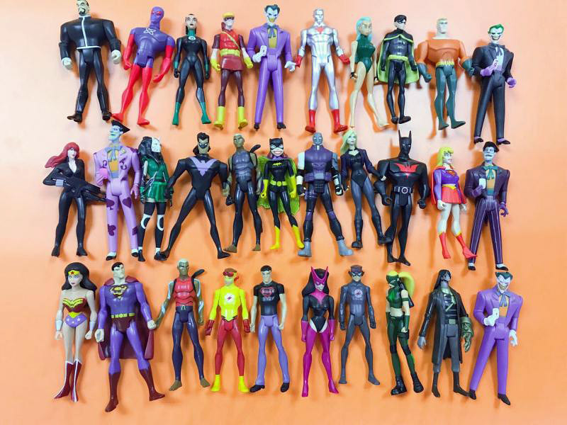 super hero Gray Ghost DC Universe JUSTICE LEAGUE UNLIMITED Action Figures Loose