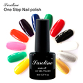 saroline One Step Gel Nail Polish Professional nail art Genuine Bluesky High Quality 3 in 1 UV gel Lacquer cheap