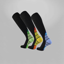 Men Professional Compression Socks Breathable Travel Activities Fit for Nurses Shin Splints Flight Sports Sock