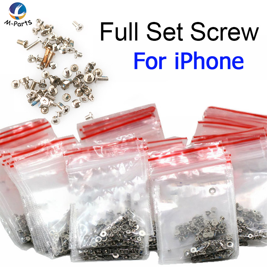 1set Full All Screws For IPhone 4 4S 5 5S 6 6S Plus 7 8 Plus X 5C With + Skid Proof Paint