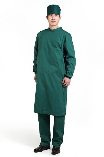 2015 OEM hospital uniforms men surgical gown doctor uniform hospital ...