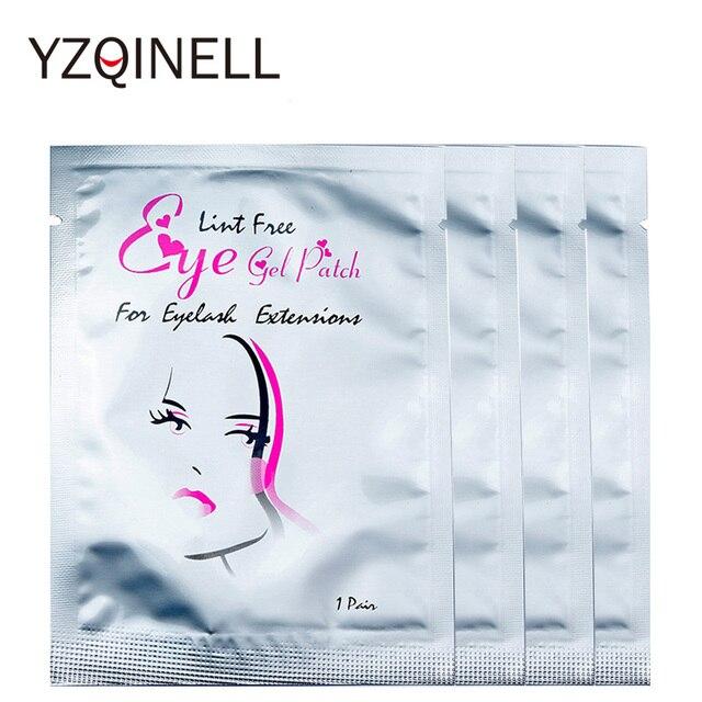 100pairs/Lot Eyelash Pads Under Eye Patches for Eyelash Extension False Eyelash Patches Eye Tips Sticker Eyelash Extension Tools