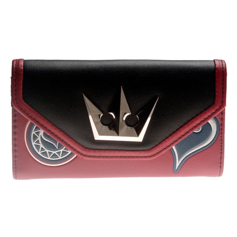 Kingdom Hearts  Wallet Women Purse DFT-8312