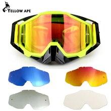 ATV Gafas защитные очки для мотоциклистов лыжный MX внедорожные очки мотоцикл Спорт на открытом воздухе Oculos велосипедные очки для мотокросса