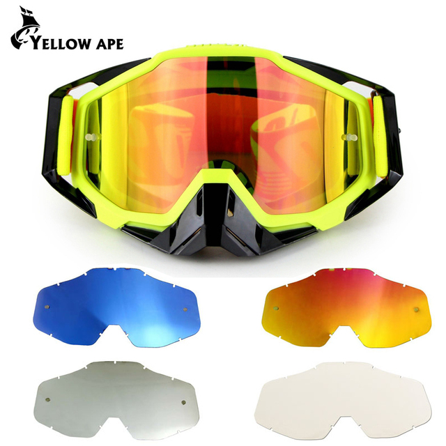 ATV Gafas Motorcycle Goggles Glasses Ski MX Off Road Glasses Motorbike Outdoor Sport Oculos Cycling Goggles Motocross Glasses