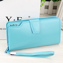 2015 New women wallets Casual wallet woman purse Clutch bag Brand leather wallet long design bag gift for lady 2015003