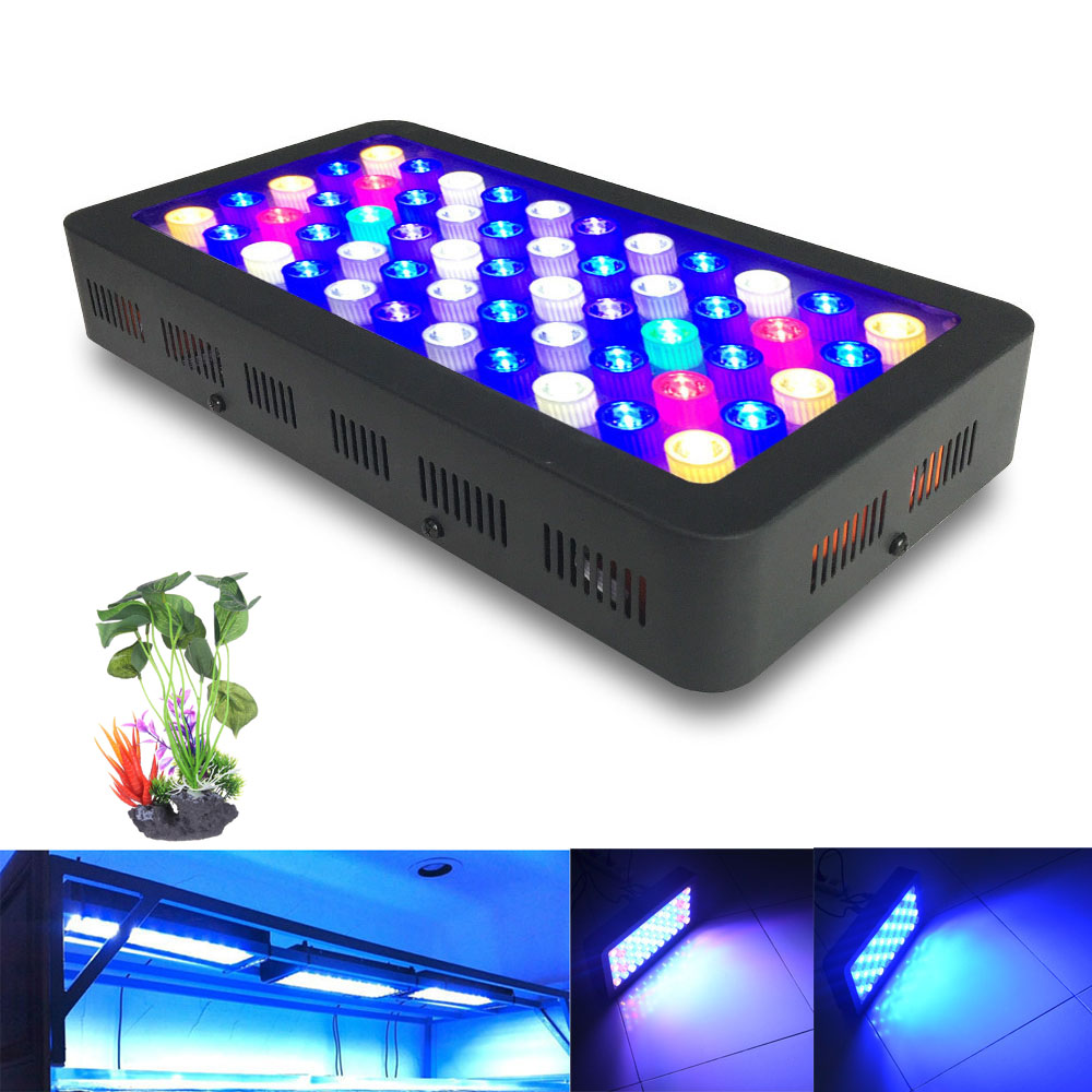 Online buy wholesale lampe led aquarium reef from china lampe led dimmable 110w full spectrum led aquarium lamp for coral reef aquarium led lighting best for fish parisarafo Images