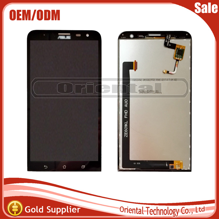 6 For Asus ZenFone 2 Laser ZE601KL 601KL Z011D LCD Display With Touch Screen Digitizer Glass Sensor Full Assembly