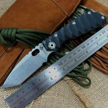 Popular ST Tactical Survival Folding Knife Stonewashed 5Cr13MOV 56HRC Blade G10 Handle Camping hunting Tools Knives