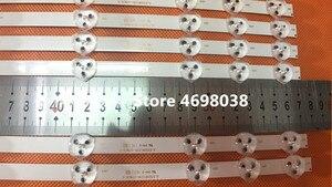 Image 3 - 2 개/몫 BANDE LED VESTEL 32 인치 REV0.2 TIS 4A 94V 0 1612 VES315WNDA 01 NUEVAS 11LED 574 MM