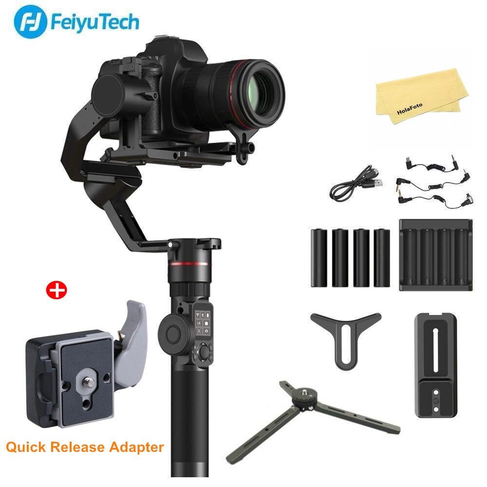 FeiyuTech Feiyu AK2000 3-Mecânico Eixo Cardan Handheld Estabilizador Dslr Camera Para Sony Canon 5D 6D Marca Panasonic GH5 nikon