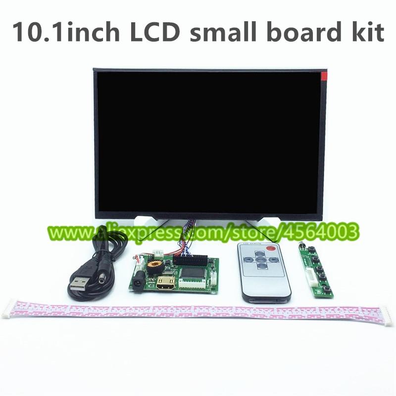 "10,1 ""zoll Ips Display Lcd Ttl Lvds Controller Board Hdmi Vga 2av 1280*800 Hd Für Raspberry Pi Kleine Fahrer Bord Mini Pc Panel"