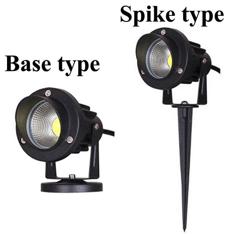Led Cob Tuin Verlichting 3W 5W 10W Outdoor Spike Gazon Lamp Waterdicht Verlichting Led Light Tuinpad spots AC110V 220V DC12V