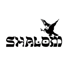 Car Styling Shalom Peace Sticker Decals Interesting  Decorative Art Vinyl Jdm