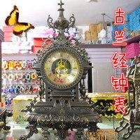 Синьцзян, текст вручную имитация древних бронза часы мусульманин часы мусульманских украшение дома мусульманских отель декабря