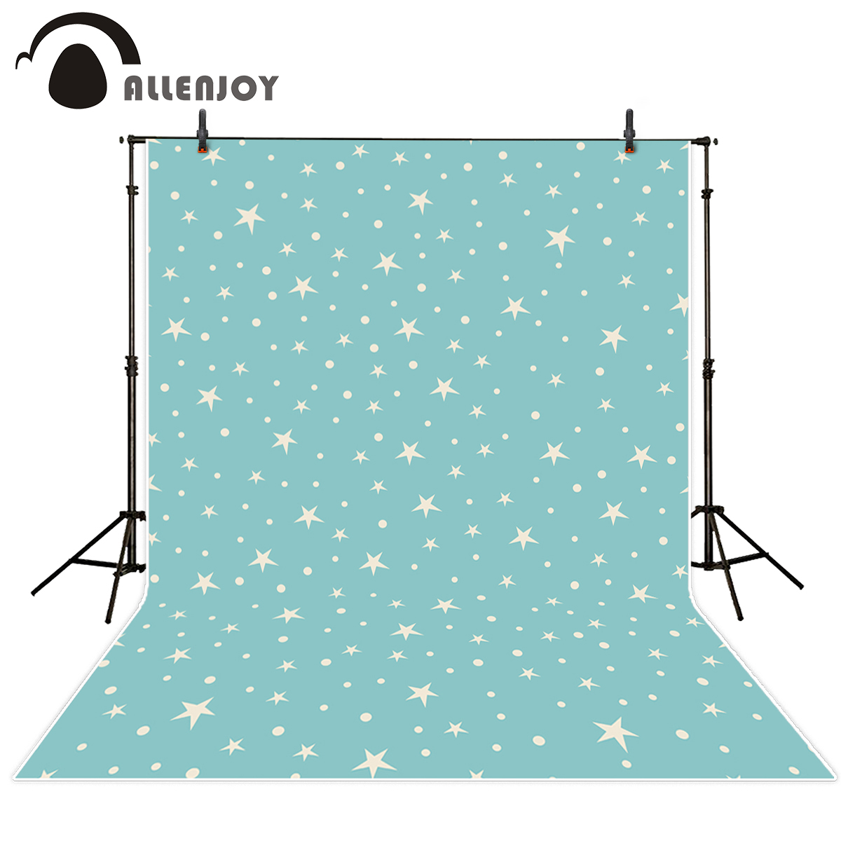 Allenjoy photography backdrop baby blue white star cute photo background photography backdrop vinyl backgrounds for photo studio reprap lulzbot 3d printer printering prusa mendel mendelmax build plate heated bed y axis plate mm bed plate kit set