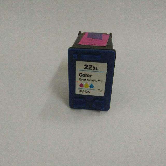 For HP 22 xl 22XL Ink Cartridge For HP22 Deskjet F2280 F2180 F4180 F380 F2238 D1360 D1460 D2360 F2224 F2235 F2275 F2276 F2290