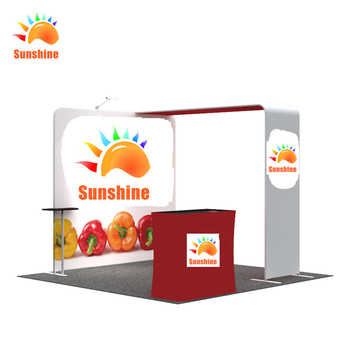 Aluminium exhibition booths backdrop for trade show display with custom printing - DISCOUNT ITEM  0% OFF All Category