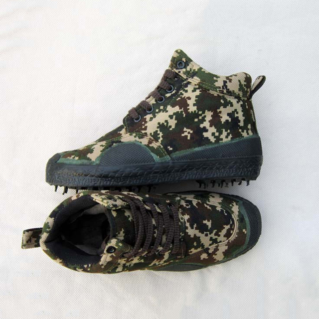 Camouflage Military Boots Men Warm Snow Boots Flats Zapatos De Hombre Winter Boots Men Shoes Waterproof Safety Shoes Boots