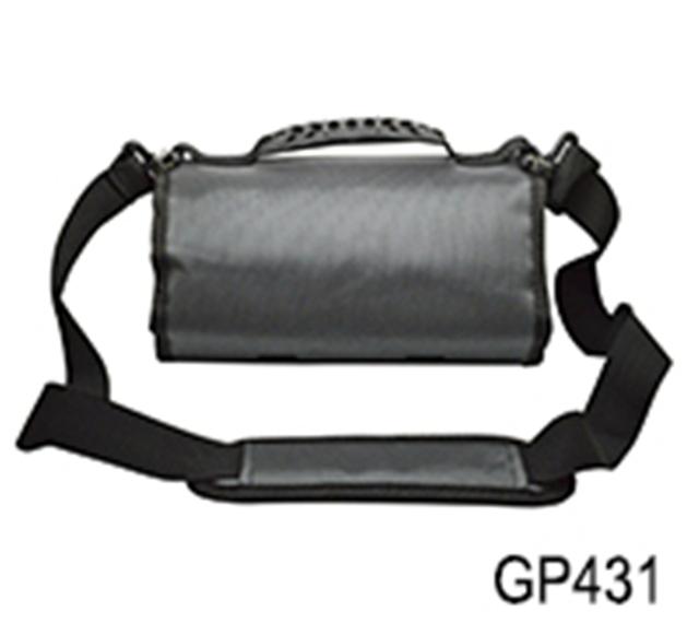 Proteção à prova d' água caso shockproo enrolado coletar armazenamento bag bolsa para acessórios da câmera gopro sjcam esporte xiaoyi gp431