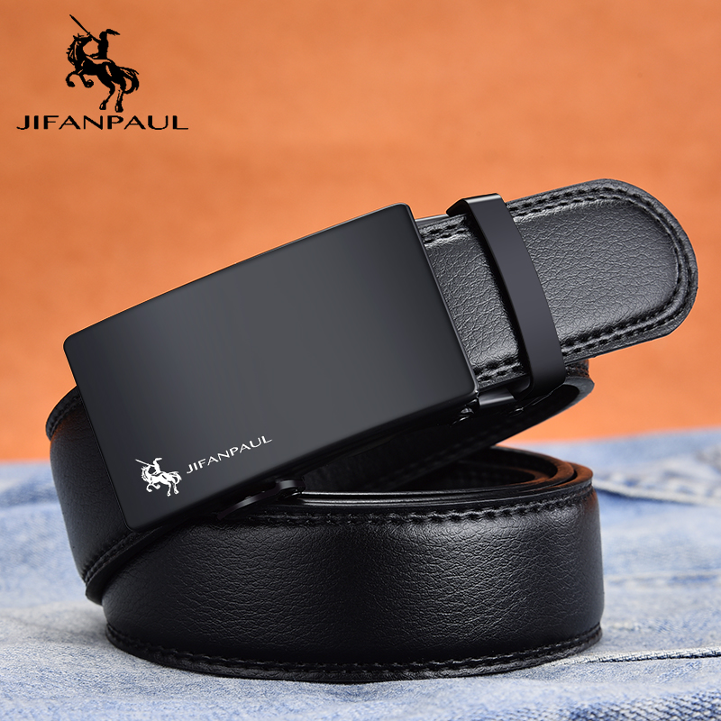 JIFANPAUL Men's Leather Belt Brand Belt Fashion Appearance Top Leather Manufacturing, Factory Direct Supply, Designer Design New