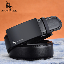 JIFANPAUL men's leather belt brand belt fashion appearance top leather manufacturing, factory direct supply, designer design new стоимость