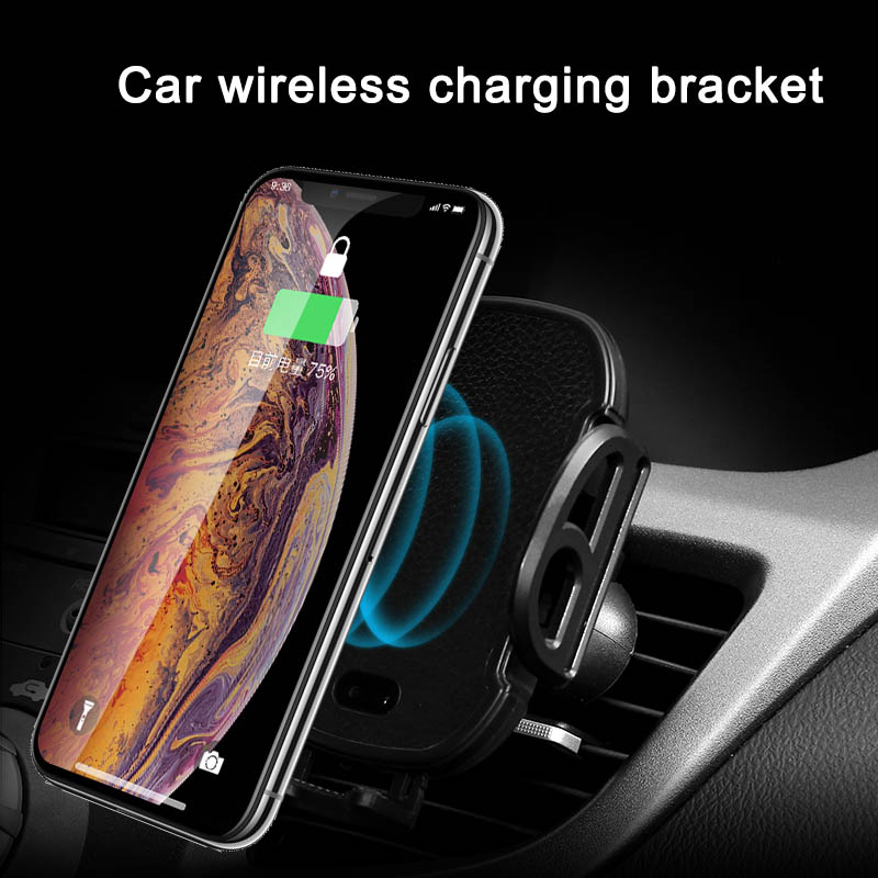 Systematisch Qi Drahtlose Auto Ladegerät Automatische Ir Telefon Halterung Für Iphone Xr Samsung Galaxy S9 Xr649 Unterhaltungselektronik