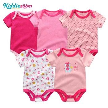 5PCS/sets Unisex Top Quality Baby Romper...
