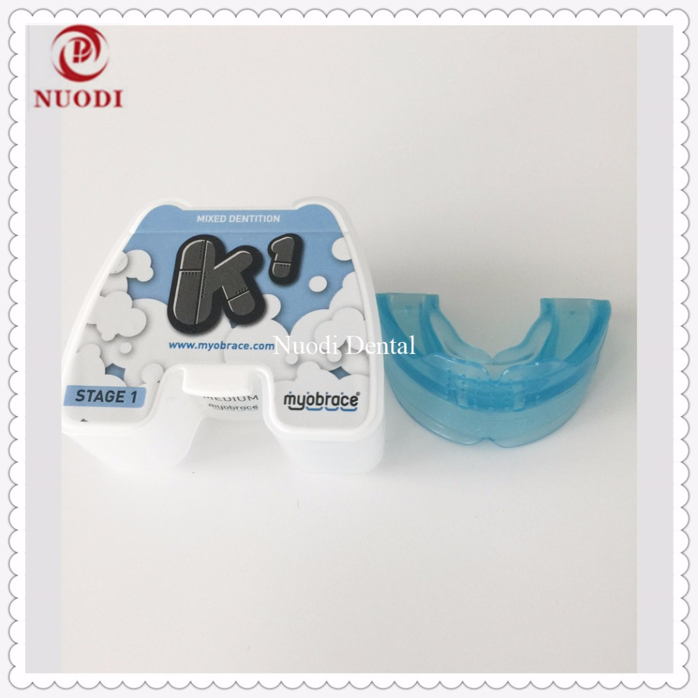 Children Orthodontic Appliance K1/K1 Teeth Trainer for ages 5-10/class II malocclusion Orthodontic trainer K1 Mixed Dentition myofunctional infant trainer phase ii hard oringal made in australia infant primary dentition trainer girls