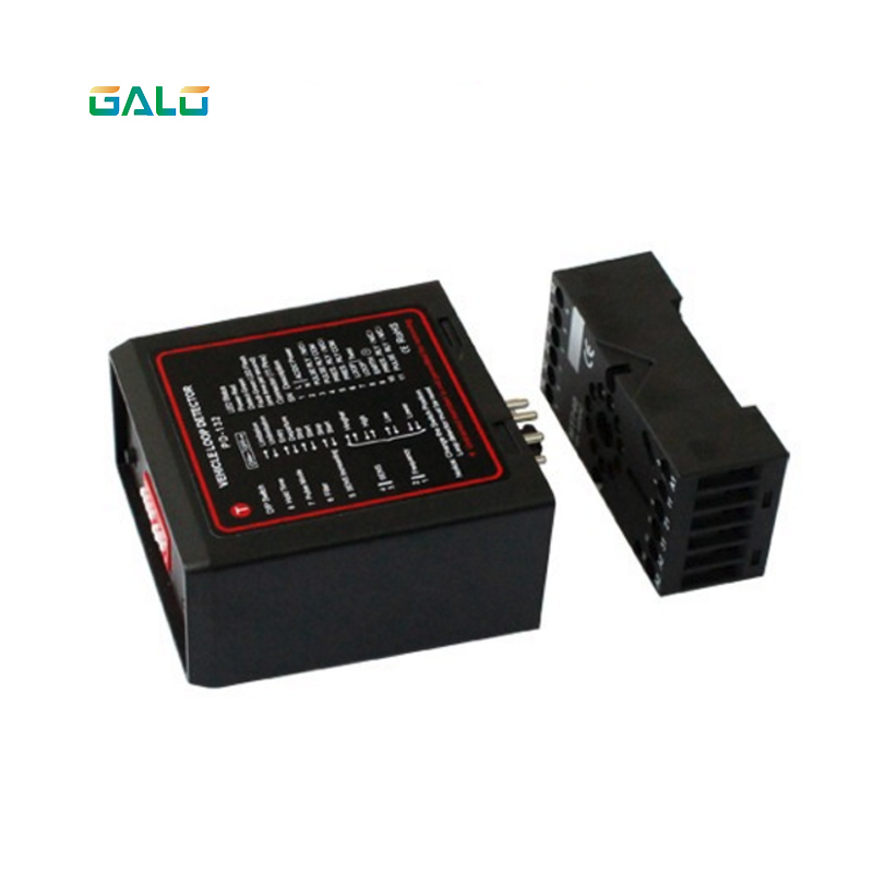 Galo 5PCS per lot AC220V Ground Sensors Traffic Inductive Loop Vehicle Detector Signal Control free shipping good quality double channel traffic inductive loop vehicle detector signal control ground sensors parking system