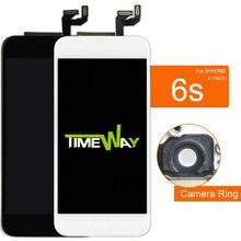100% Test iphone 6 S lcd ekran Için Tianma ve AAA Kalite dokunmatik ekranlı sayısallaştırıcı grup Için iphone 6 S Ekran 4.7 Inç