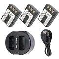 3Pack NB-2LH NB2LH 2LH 2L NB-2L NB-2L 2L14 Batteries&Charger for Canon EOS 400D S80 S70 S50 S60 350D G7 G9 Kiss N X Rebel XT XTi