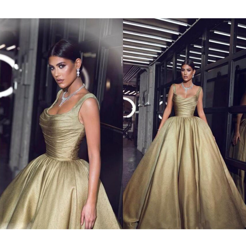 Celebrity Wedding Dresses 2019: 2019 Said Arabic Evening Gowns Pageant Celebrity Gowns
